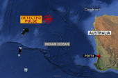 Three acoustic signals detected in jet search