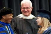 Former POW Lynch receives degree