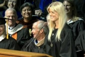 Tiger Wood's ex gives commencement address