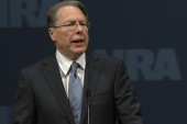 Wayne LaPierre links Boston lockdown to...