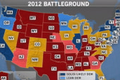 Map shows tight 2012 presidential race
