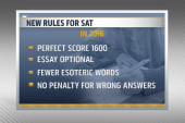 Changes announced for the SAT