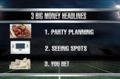 Party spending kicks off ahead of Super Bowl