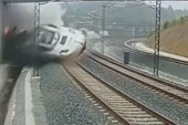 Driver in deadly train crash in Spain...