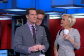 Joe, Mika can't keep their hands off Thomas