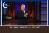 "Leno says goodbye to the ""Tonight Show"""