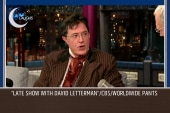 Do Colbert and Letterman get along?