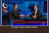 Colbert breaks the news to Stewart