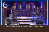Ferrell and Chad Smith have a drum challenge