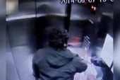 Man has terrifying elevator ride