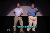 Watch Christie do the 'passionate elliptical'