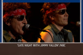Fallon, Springsteen in Christie 'traffic jam'