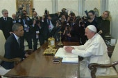 President Obama meets with Pope Francis