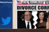 Rupert Murdoch getting a divorce