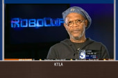 Samuel L. Jackson, anchor have testy exchange