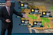 Sunday's forecast: Triple digit heat,...