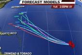 Tropical Storm Katia strengthening in...
