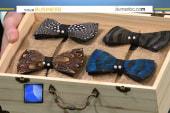 Brackish: Feathered bow ties