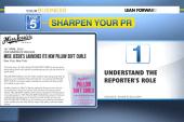 5 ways to sharpen your PR