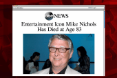 Directing legend Mike Nichols dies at 83