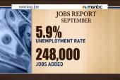September jobs report better than expected