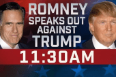 Mitt Romney makes his 2016 announcement