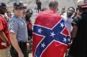 Confederate flag demonstrations in S.C.