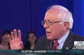 Bernie Sanders brings sass to MSNBC Town Hall
