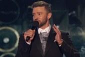 Justin Timberlake aims joke at Trump