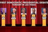 Nervous Bernie? Tough Chafee? It's debate...