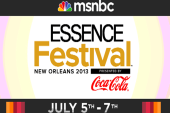 msnbc Live from the Essence Festival