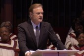 Lawrence O'Donnell speaks to Alabama church