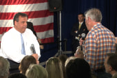 Questioner asks Christie about Kelly firing