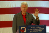 Pres. Clinton: 'We're coming back!'