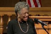 Hillary Clinton interviews Maya Angelou