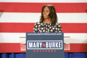 First Lady to WI crowd: 'you need to step up'