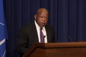 Rep. John Lewis honors Harvey Milk