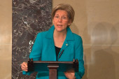 Warren calls out GOP for judge filibusters