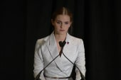 Emma Watson: 'If not me, who? If not now,...