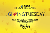 #GivingTuesday on MSNBC