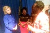Full Video: Clinton meets Black Lives Matter
