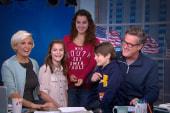 Kids take over the set of Morning Joe
