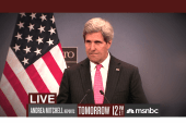 Andrea Mitchell interviews John Kerry