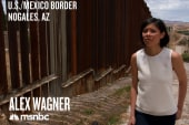 Alex Wagner at US/Mexico border
