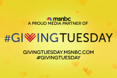 MSNBC and #GivingTuesday
