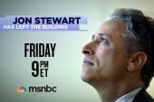 Jon Stewart Has Left the Building