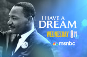 MLK speech rebroadcast on MSNBC