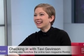 Actress & editor Tavi Gevinson on So POPular!