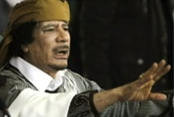 Reports say Gadhafi may be leaving Libya