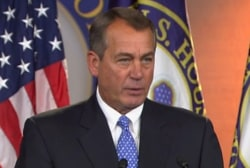 Boehner: Vacation is all he's ever wanted